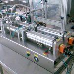 Máquina de llenado de champú líquido de doble boquilla de buena calidad