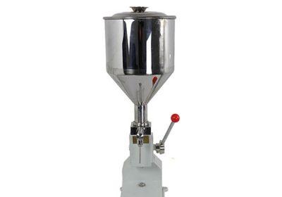Pequeña máquina de llenado de crema manual