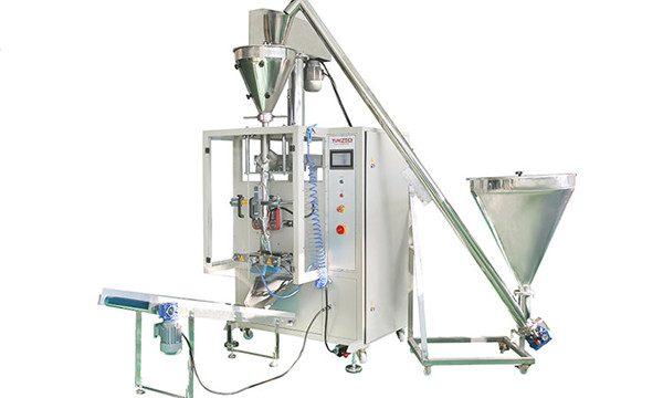 Máquina automática vertical de llenado y sellado de polvo