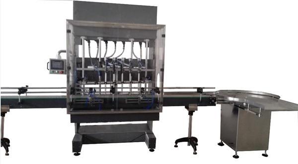 Máquina automática de llenado de blanqueador de botellas