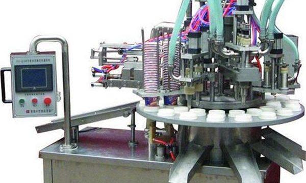 Máquina automática de llenado de pomadas / cremas cosméticas