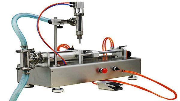 Máquina de llenado de crema neumática de doble cabezal 100-1000 ml