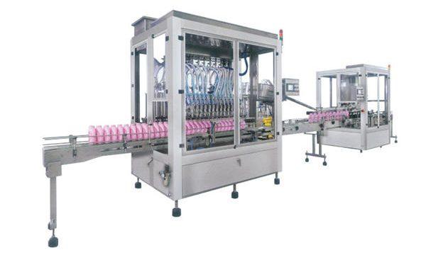 Máquina de llenado de champú con detergente de jabón líquido completamente automática