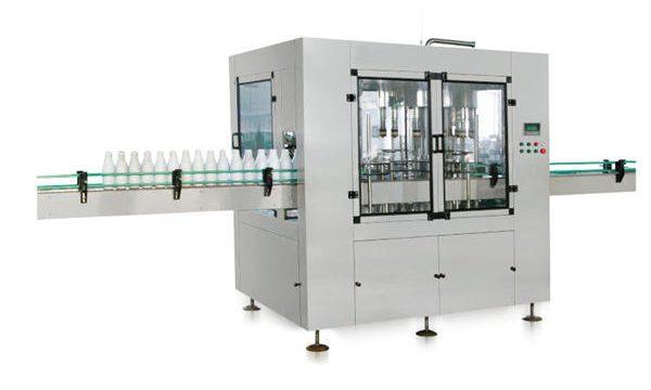 Máquina automática de llenado de jabón líquido de pistón lineal de ocho cabezales