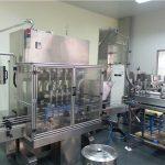 Máquina de llenado de aceite lubricante completamente automática