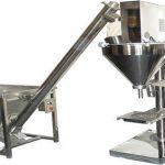 Llenadora de polvo semiautomática Máquina de llenado de polvo seco