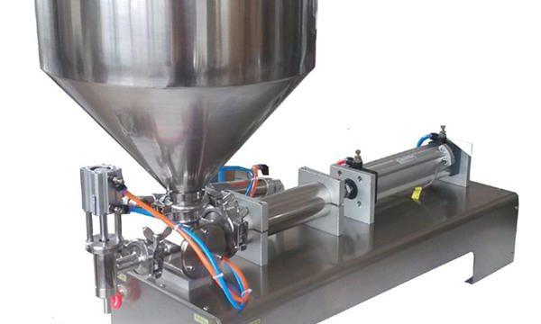 Máquina de llenado de pasta neumática manual de precio de fábrica
