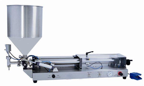 Máquina de llenado de pasta semiautomática para 3mL-5L