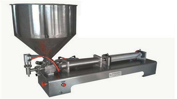 Máquina de llenado de pasta vertical semiautomática de una cabeza