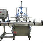Máquina automática de llenado de líquidos de pistón 50ml-1L