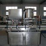 Máquina automática de llenado de pistones de línea recta