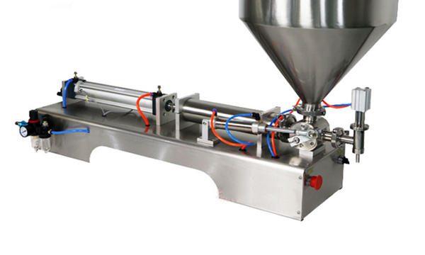 Máquina de llenado de hojaldre de crema semiautomática 100-1000ml