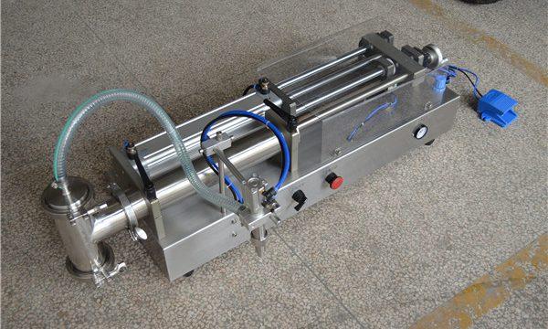 Fabricante semi automático de la máquina de rellenar del champú